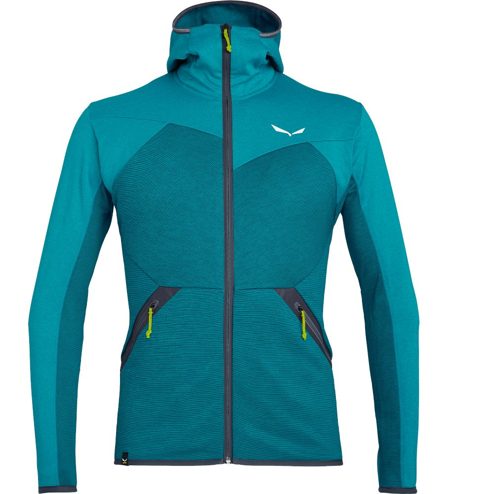 Флис Salewa Puez Melange Polarlite Full-Zip