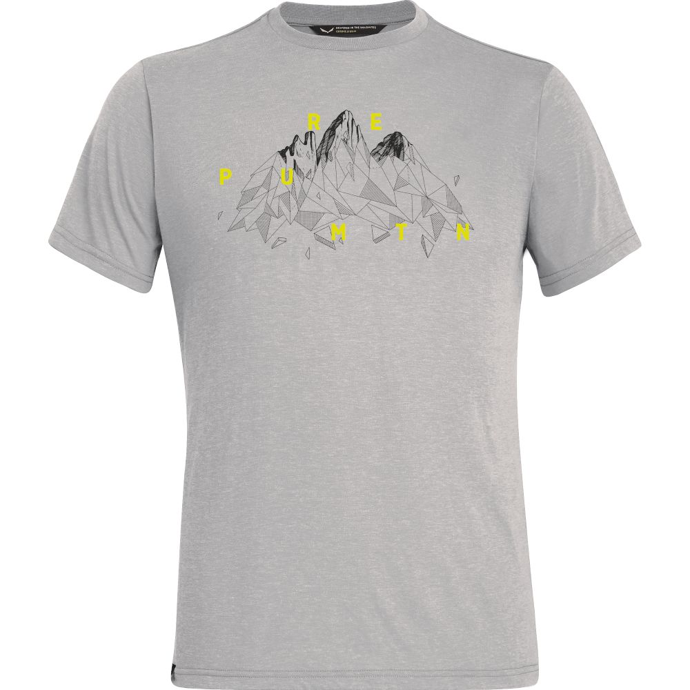 Футболка Salewa Illustration Dri-Rel S/S Tee Mns