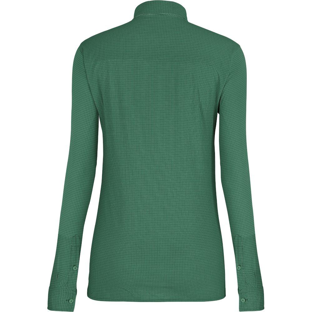 Сорочка Salewa Puez Minicheck 2 DRY L/S Shirt Wms