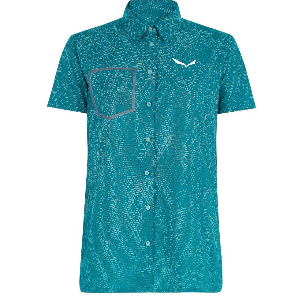 Сорочка Salewa Puez Print DST S/S Shirt Wms