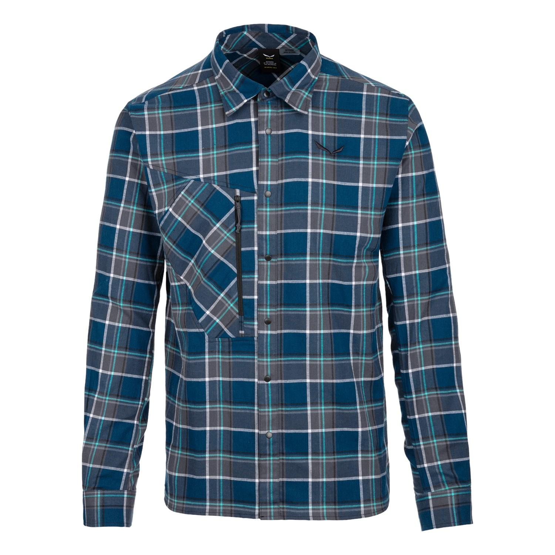 Рубашка Salewa Fanes Flannel 4 Polarlite Mns