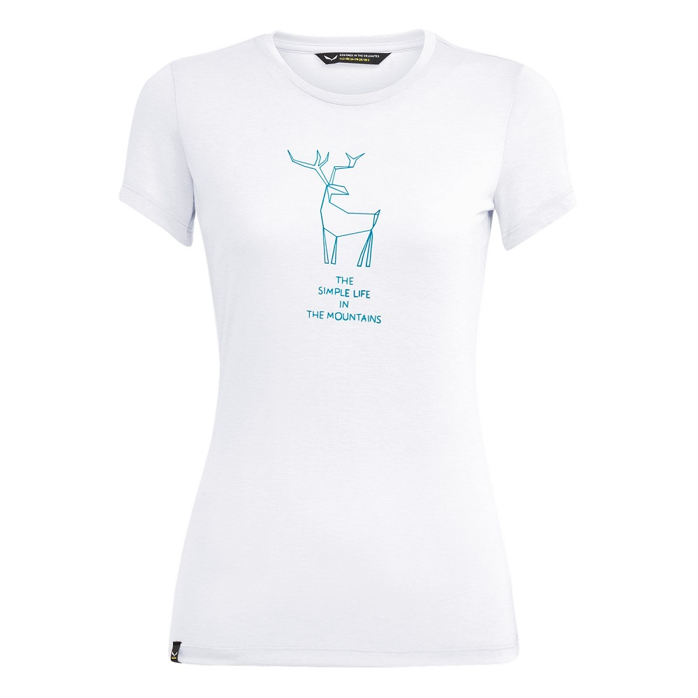 Футболка Salewa Deer Dri-Release Womens T-Shirt