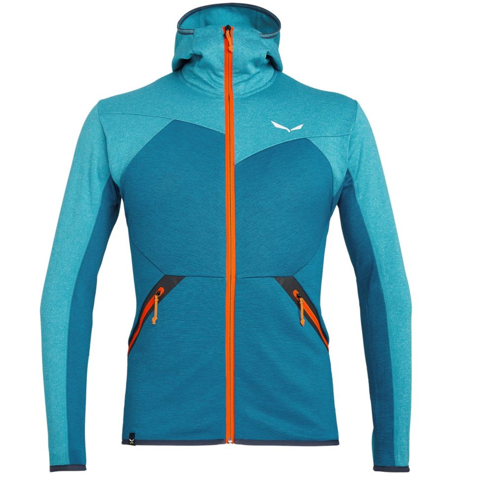 Фліс Salewa Puez Melange Polarlite Full-Zip