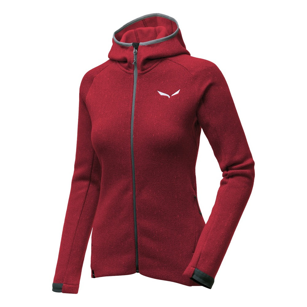 Фліс Salewa Puez Herringbone Polarlite Full-Zip Womens Fleece