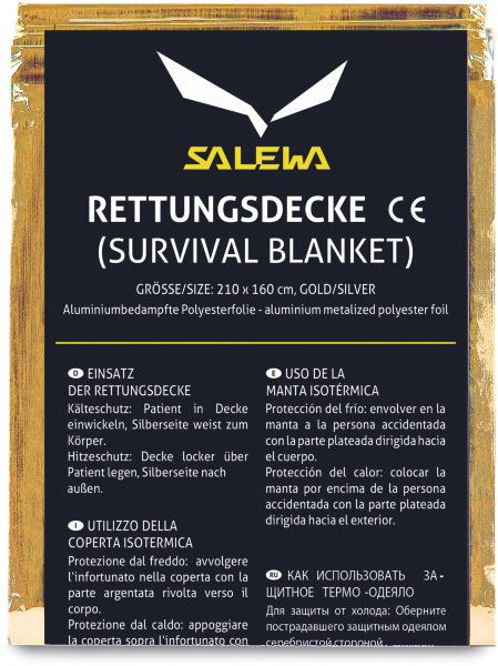 Рятувальна ковдра Salewa Rescue Blanket